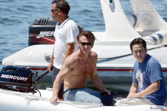 Sean Penn, un corps d'athlète à 53 ans.