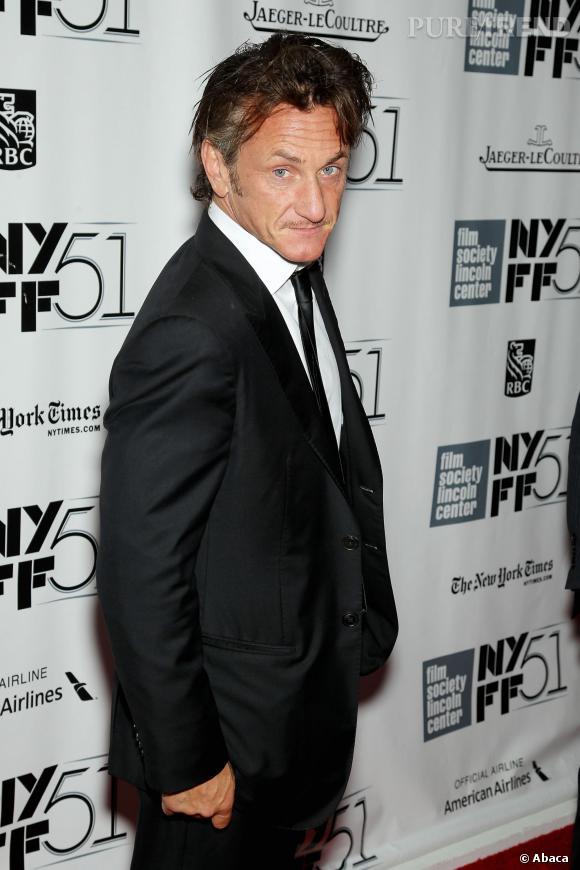 Sean Penn, un éternel beau gosse à 53 ans passés.