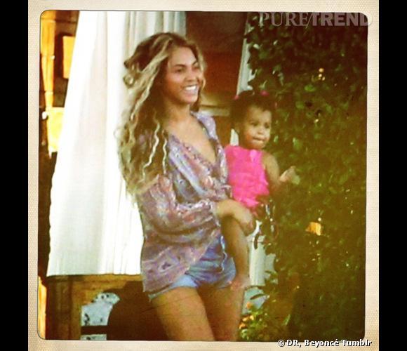 Blue Ivy, le plus bel accessoire de Beyoncé.