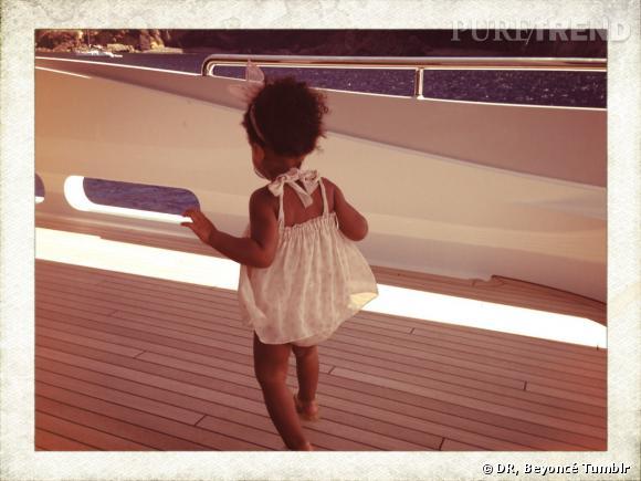 Blue Ivy, mini star de 2 ans.