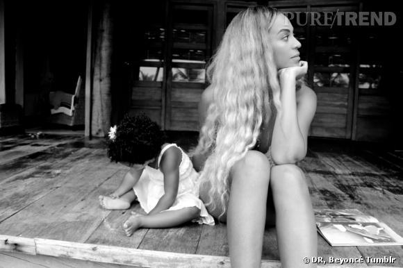 Blue Ivy s'invite en guest star sur le Tumblr de Beyoncé.