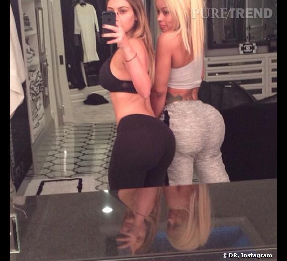 Kim Kardashian et son fessier retouché (sur Photoshop).