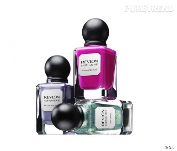 Parfumerie Nail Enamels, les vernis parfumés de Revlon.