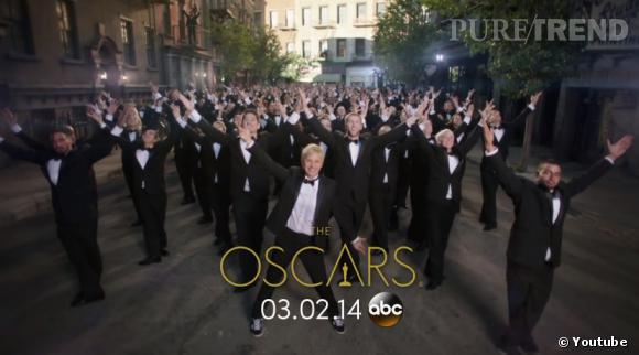 Ellen DeGeneres dévoile ses mouvements de danse dans le teaser des Oscars 2014 !