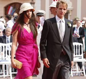 Andrea Casiraghi et Tatiana Santo Domingo au mariage du prince Albert en juillet 2011.