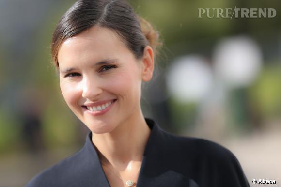 Virginie Ledoyen est enceinte de son troisième enfant.