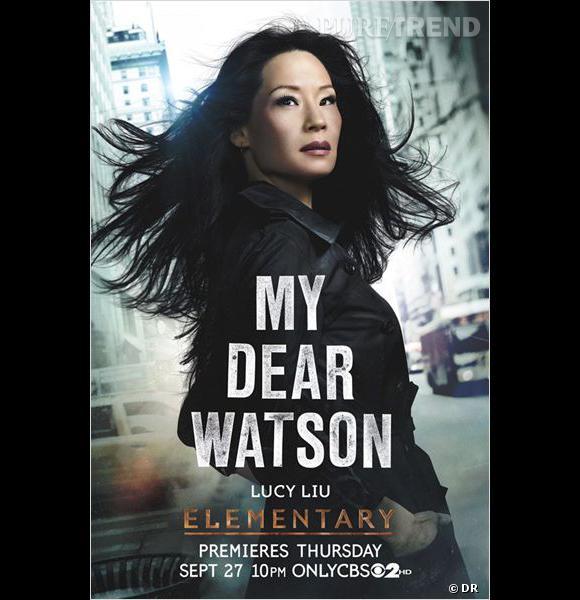"""Dans """"Elementary"""", Lucy Liu incarne Joan Watson, une ex-chirurgienne devenue """"compagnon d'ex drogués"""". Toute une histoire !"""