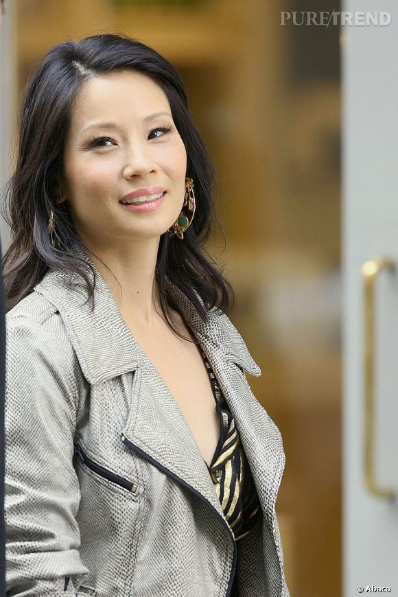 Lucy Liu nous ensorcelle d'un seul regard.