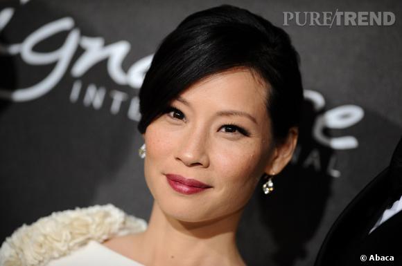 On aodre les beauty looks de Lucy Liu et ses longs cils.
