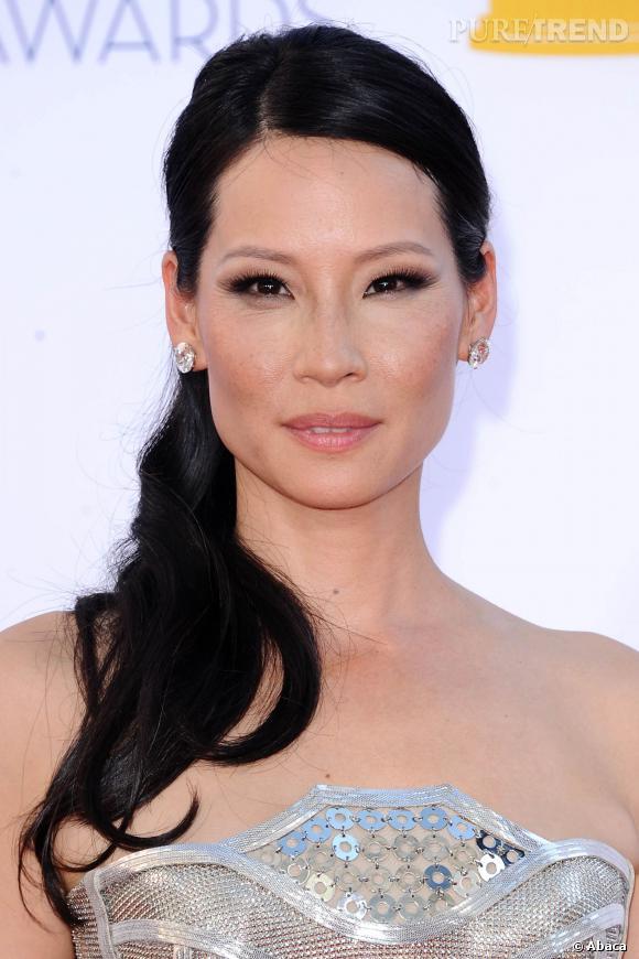 Lucy Liu, divine sur tapis rouge.