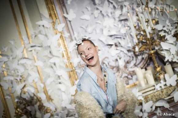 Backstages du défilé Alexis Mabille Haute Couture Printemps-Eté 2014.