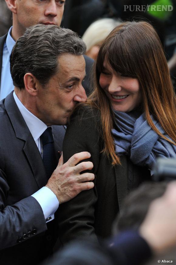 Carla Bruni se livre au quotidien Le Bien Pubic du 23 janvier 2014.