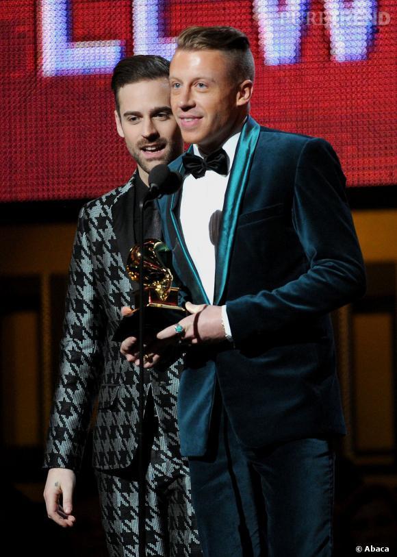 Macklemore et Ryan Lewis sont récompensés comme meilleur nouvel artiste et meilleure performance rap pour cette nouvelle édition des Grammy Awards.