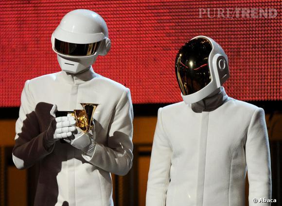 Daft Punk est reparti avec pas moins de 5 récompenses pour ces Grammy Awards 2014.