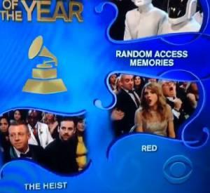 La fausse joie de Taylor Swift aux Grammy Awards 2014.