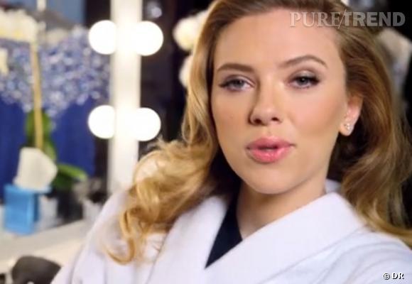 Scarlett Johannsson est la nouvelle égérie de SodaStream.
