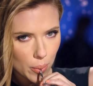 Scarlett Johansson, sexy pour SodaStream.
