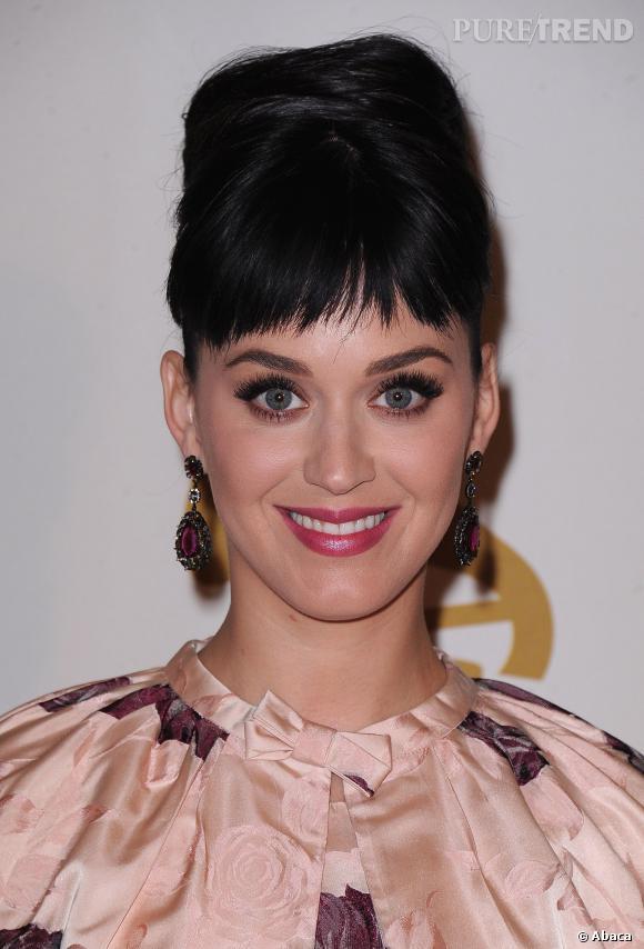 Katy Perry, un flop coiffure qui ne passe pas.