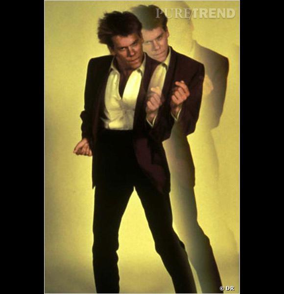 """Kevin Bacon s'est fait remarquer dans le film musical """"Footloose"""", en 1984."""