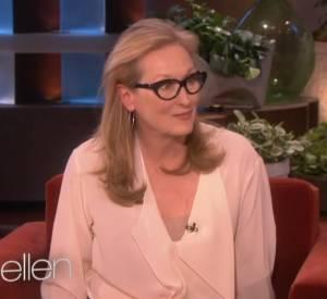 Meryl Streep, hilarante, donne une vraie leçon de comédie sur le plateau d'Ellen deGeneres.