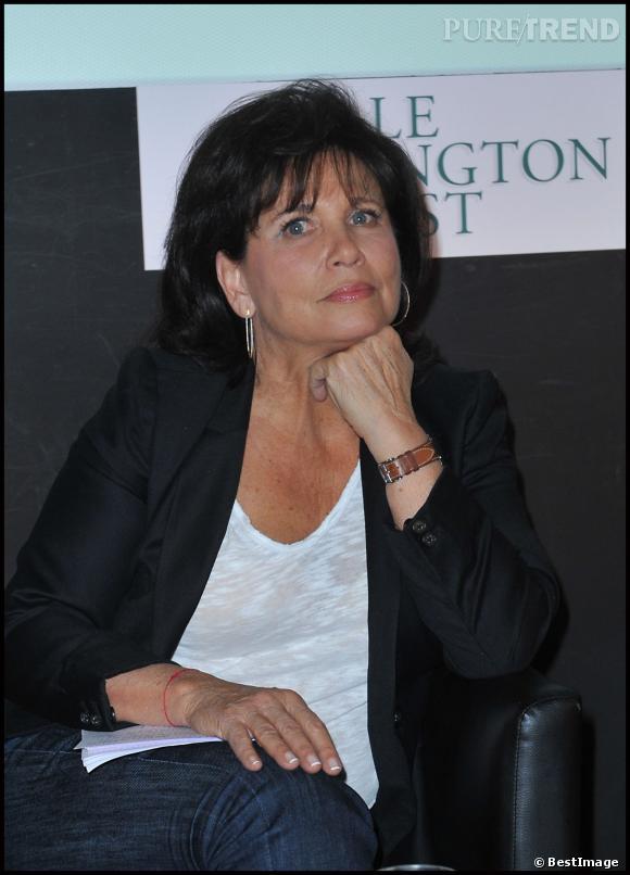 Anne Sinclair est la directrice éditoriale du Huffington Post français.