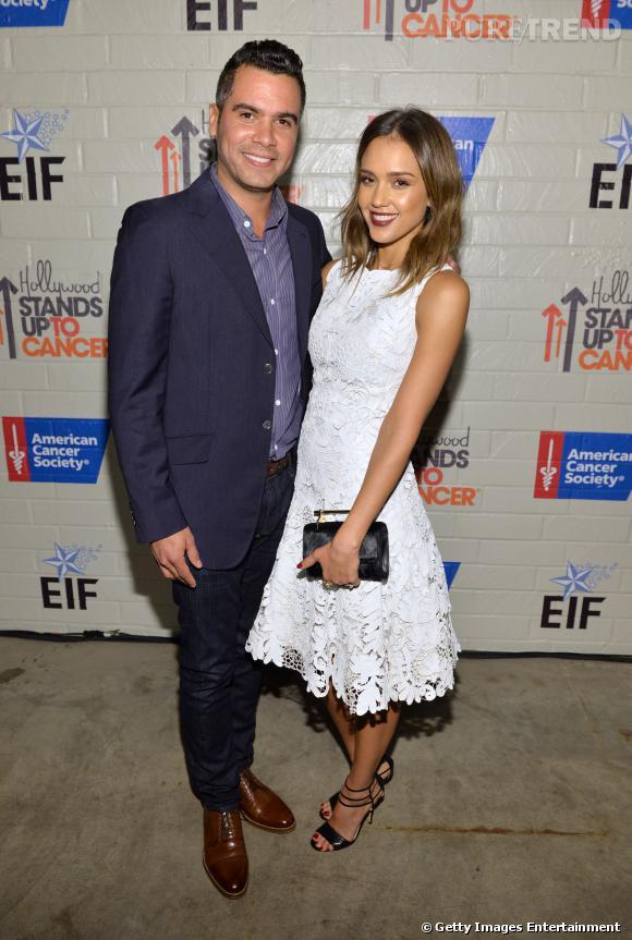 Jessica Alba à la soirée Hollywood Stand Up 2014 au côté de son mari Cash Warren.