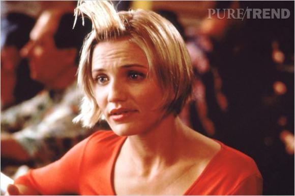"""Cameron Diaz, le cliché de la blonde gentille et drôle (à ses dépends) dans """"Mary à tout prix""""."""