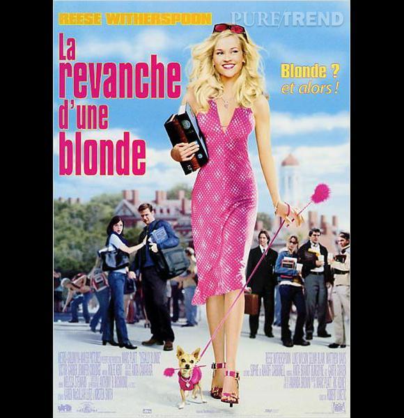 """Reese Witherspoon, une Barbie à Harvard dans """"La Revanche d'une blonde""""."""