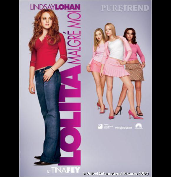 """Lindsay Lohan, aux prises avec les vilaines blondes de son lycée dans """"Lolita malgré moi""""."""