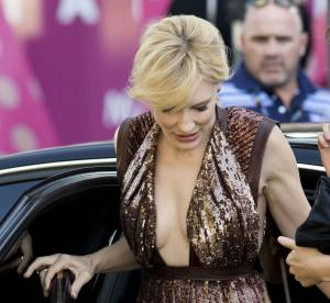 Cate Blanchett et un étonnant double décolleté : sublime en Givenchy !