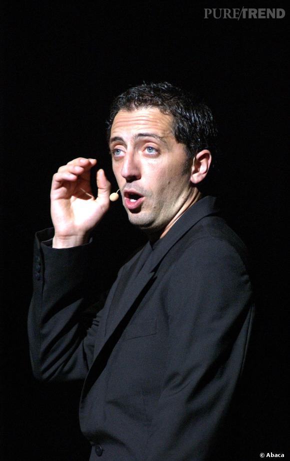 """Gad Elmaleh retrouvera le chemin de la scène pour son spectacle """" Gad Elmaleh, Sans Tambour"""",  à l'Olympia, du 8 avril au 2 mai 2014."""