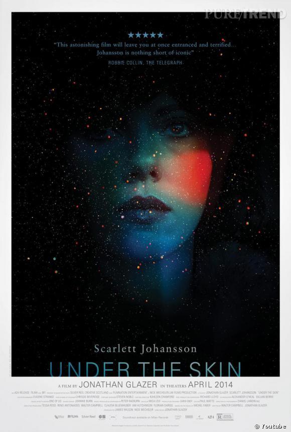 """L'affiche du film """"Under The Skin"""" avec Scarlett Johansson a été dévoilée."""