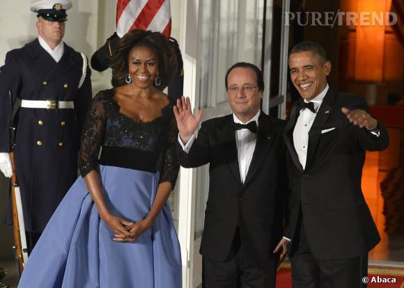 """François Hollande n'a rien laissé paraître, mais on imagine que la chanson """"Ne Me Quitte Pas"""" devait sonner de manière particulière, à la réception de la Maison Blanche, le 11 février 2014."""