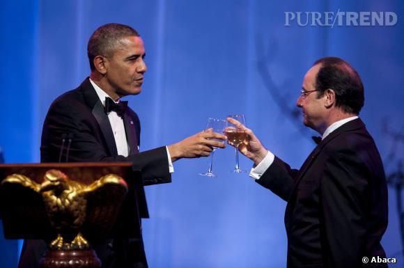 """Malaise durant la réception à la Maison Blanche hier soir, 11 février 2014, quand Mary J. Blige a décidé d'interpréter """"Ne Me Quitte Pas"""" devant le Président Français."""