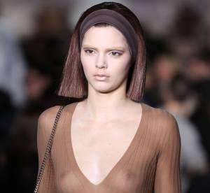 Kendall Jenner seins nus : son décolleté Marc Jacobs choque la Fashion Week