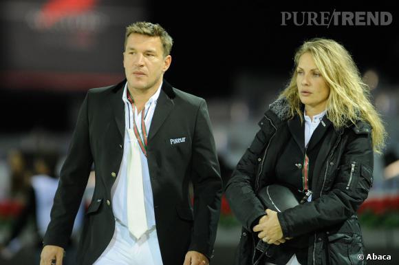 Benjamin Castaldi et sa femme Vanessa Broussouloux.