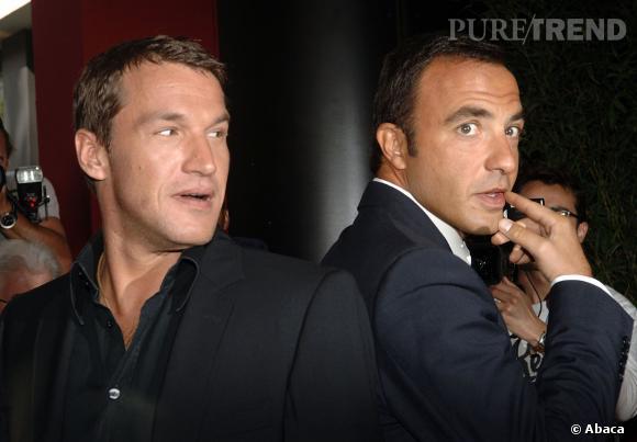 Benjamin Castaldi et Nikos Aliagas, tous les deux des animateurs phare de TF1.