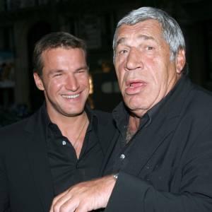 Benjamin Castaldi et son père, Jean-Pierre Castaldi.