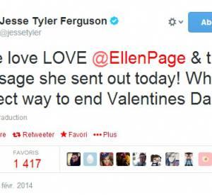 "Jesse Tyler Ferguson (""Modern Family"") a soutenu ce discours de Saint Valentin..."