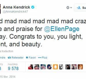 Anna Kendrick a dit tout son amour pour la jeune actrice.