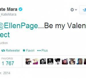 Kate Mara a elle aussi demandé à Ellen Page d'être sa Valentine.
