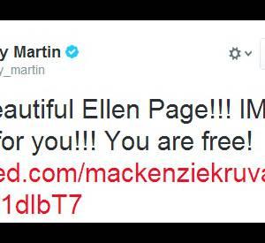 Ricky Martin a apporté son soutien à l'actrice.