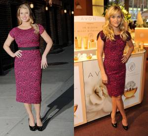Jessica Simpson vs Reese Witherspoon : la robe moulante L'Wren Scott