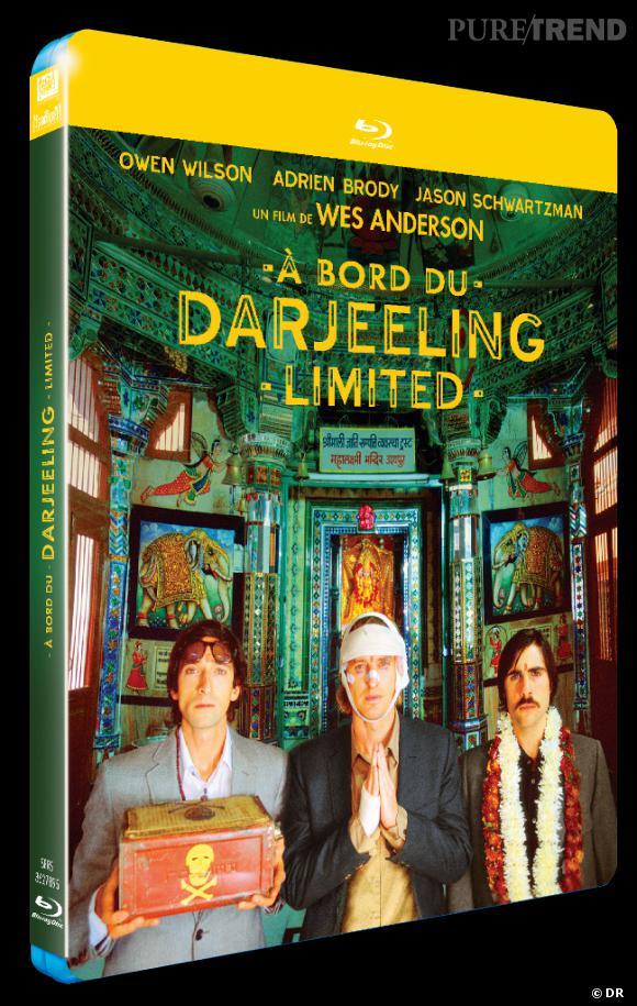 """DVD de février : """"Au bord du Darjeeling Limited"""" en Blu Ray pour le prix de 19.99 €."""