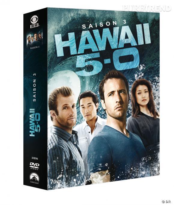 """DVD de février : """"Hawai 5-0"""" saison 3 pour le prix de 39.99 €."""