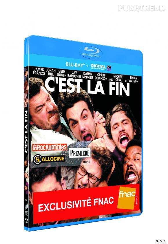 """DVD de février : """"C'est la fin"""" en blu-ray pour le prix de 24.99 €."""