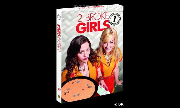 """DVD de février : La saison 1 de """"2 Broke Girls"""" pour le prix de 34.99 €."""
