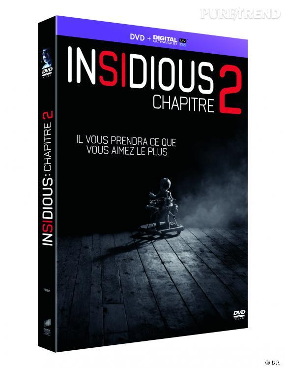"""DVD de février :""""Insidious 2"""" pour le prix de 19.99 €."""