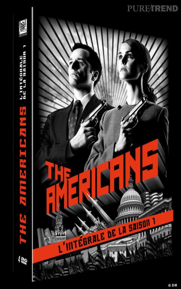 """DVD de février : """"The Americans"""" pour le prix de 34.99 €."""
