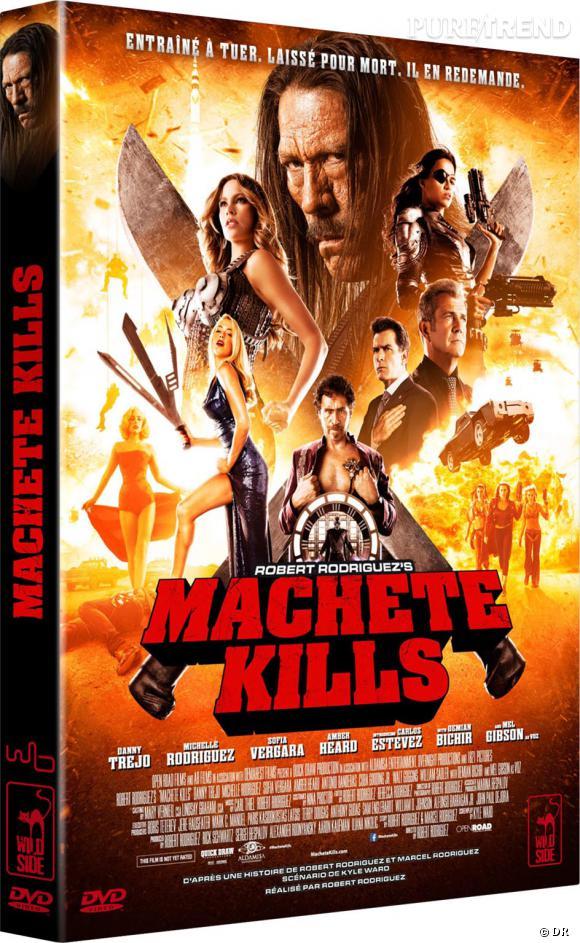 """DVD de février : """"Machete Kills"""" pour le prix de 19.99€."""